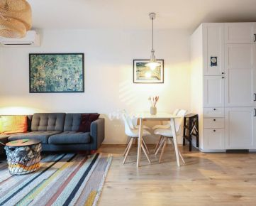 PRENÁJOM - moderný 3 izbový byt v projekte NUPPU, Mlynské Nivy