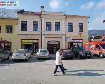 Polyfunkčný objekt v centre Brezna
