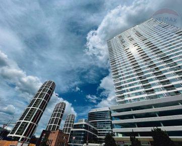 Prenájom - 2i byt s loggiou, pivnicou a parkovaním, Panorama City, Landererova ul,