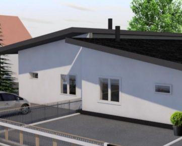 Na predaj Hrubá Borša novostavba dvojdomu  rodinný dom - exkluzívne v Rh+