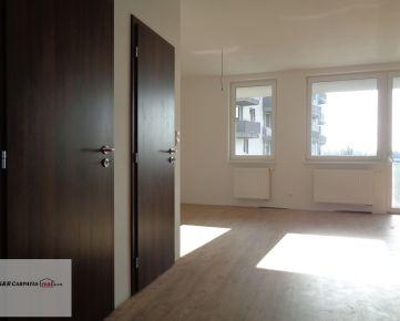 K&R CARPATIA-real* Nový byt - Skolaudované - 1,5 izbový byt - 47 m2 - garážové státie - balkón - Slavomírová ul.