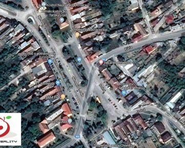 TRNAVA REALITY - rozľahlý stavebný pozemok so všetkými IS na tichej ulici v centre obce Chtelnica