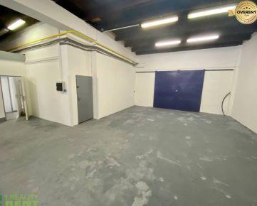 Na prenájom skladové priestory 198 m2 v priemyselnom areáli v Žiline