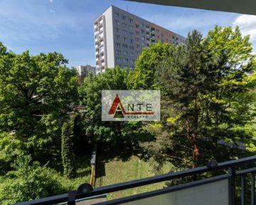 Na prenájom 2 izbový byt blízko Centra, Branisková ul. (Kuzmányho), LOdžia, Výťah, nezariadený