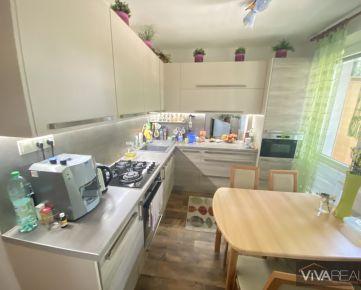 VIVAREAL* VEĽKÝ  3 izb. byt, výmera 70m2 + 2x loggia, Mozartova ul., Trnava