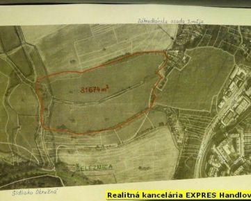 RK EXPRES - EXKLUZÍVNE na predaj pozemky v Handlovej.