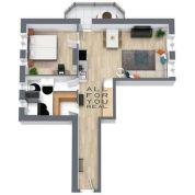 2-izb. byt 60m2, kompletná rekonštrukcia