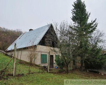 Chata s vinicou na polosamote neďaleko Zádielskej doliny