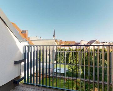 Zariadený 3-izbový mezonet s terasou, parkovacím miestom v garáži, novostavba rezidencia VENTI