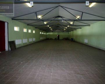 Na predaj sklad 1321m2, Strojnícka, Prešov
