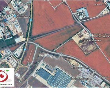 TRNAVA REALITY - 4ha pozemok v priemyselnej zóne pri PSA a koľajniciach v obci Zavar - Prielohy/Hony