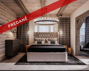 LEXXUS-PREDAJ Štýlový investičný boutique apartmán vo Vysokých Tatrách