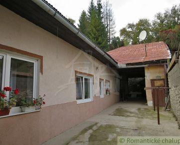 Dom po čiastočnej rekonštrukcii v meste Dobšiná