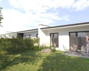 **NOVINKA***: 3 izbový prízemný byt (od 63 m2) s vlastnou oplotenou záhradkou vrátane 3 parkovacích miest