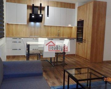 NOVOSTAVBA VLÁRSKA , KRAMÁRE, 2-izb. byt, 60 m2, loggia, parking, komplet zariadený.