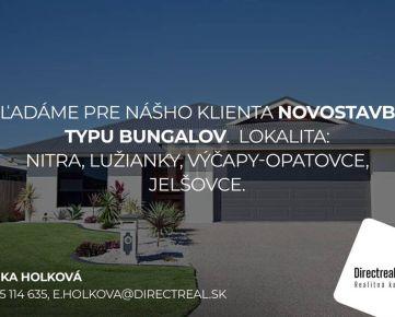 Direct Real - Hľadáme rodinný dom typu BUNGALOV