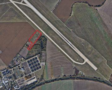Dražba lukratívnych pozemkov pri letisku a plánovanom obchvate !