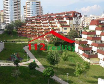 Na prenajom veľký 4 izbový byt s veľkou 40m2 terasou, garáž pre 2 autá, Karlova Ves