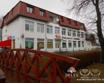Na predaj časť polyfunkčnej budovy - Spišská Teplica okr.Poprad