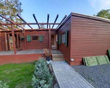 Na predaj štýlový 4 izbový drevodom bez pozemku,umiestnený v  Bratislave-Mlynská dolina.