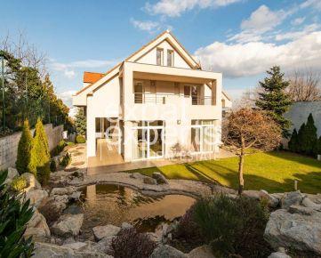 Exkluzívna vila s bazénom, 660m2, 3-garáž, Koliba, 14a, krásna záhrada