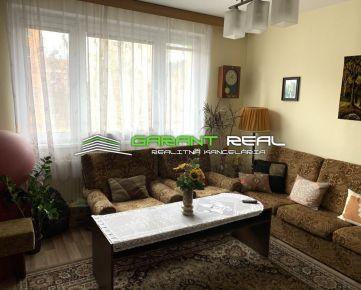 GARANT REAL predaj 2-izbový byt 58 m2, po rekonštrukcii, Prostějovská ul, Prešov