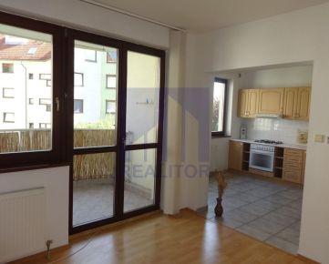 PRENÁJOM, 2 izbový byt Belveder,  2. p., 77 m2, terasa