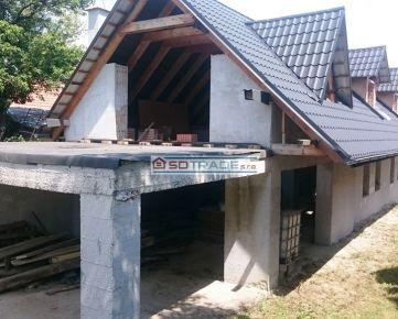 Predaj vidieckeho domu pred dokončením  v obci Babiná