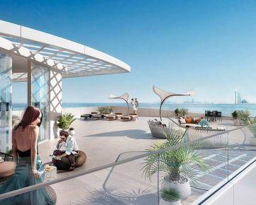 Užite si dotyk luxusu uprostred Palmových ostrovov v budove Mina na Palm Jumeirah v Dubaji