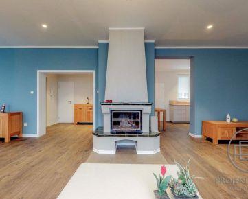 BA-Krížkova, 4i byt, 117 m2 – reprezentatívny byt s krbom a terasou, kompletná rekonštrukcia architektom, vysoké stropy