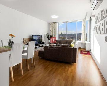 HERRYS -Na prenájom 3 izbový kompletne zariadený byt s veľkou lodžiou v projekte III veže