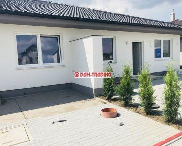 *** NOVOSTAVBA *** 4 izb. rodinný dom v dvojdome, ÚP 97m2, pozemok 380 m2, 2x park. miesto – ZÁLESIE