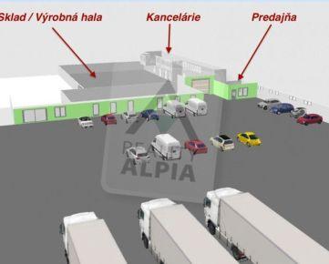 Obchodný, skladový alebo výrobný priestor ul. Košická, Prešov - Solivar