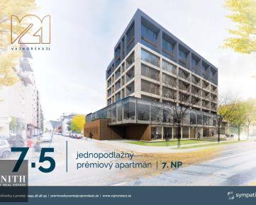 2-izbový byt s loggiou VAJNORSKÁ21 ozn.7.5