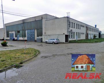 Investičná príležitosť - priemyselný areál v Nitre na predaj