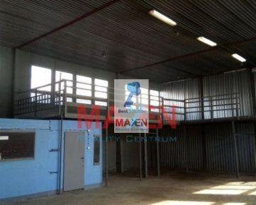 Výrobný priestor 200m2 so soc.zázemím v priemyselnom areáli Košice IV Nad Jazerom na prenájom