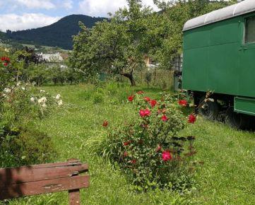 Predaj : Záhrada 500 m2 v Brodne pri Žiline