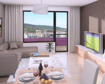 PROJEKT RÍNOK RAČA - 4i byt s balkónom v štandarde
