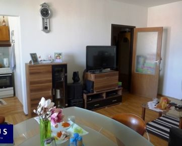 Predaj, dvojgarzónka s loggiou a nádherným výhľadom, 12./12, 47 m2 + 4,8 m2 loggia