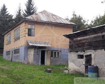 Dom/chalupa v krásnom prostredí obce Baškovce