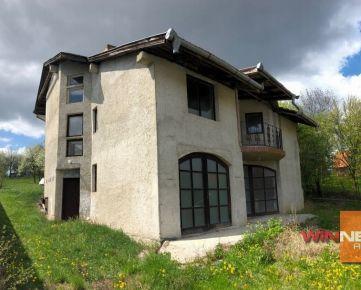 Ponúkam Vám rozostavaný dom v Slanskom Novom Meste, 22km od Košíc