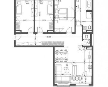 4i byt v novostavbe Retro - centrum /4.10