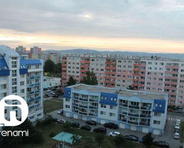 Prenájom 2 izbový byt, 44m2, Bratislava Vrakuňa, 399 € s energiami