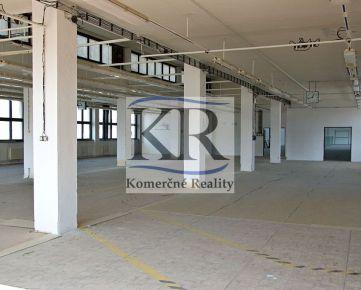 1444 m2  Priestory na prenájom - sklad, výroba Trenčín, Za mostami