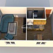 1-izb. byt 38m2, pôvodný stav