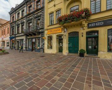 Priestory v absolútnom centre mesta Košice