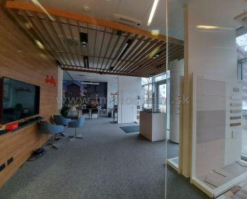 Reprezentatívny obchodný priestor 93 m2 na prenájom v objekte Bratislava Business Center I PLUS na Plynárenskej ulici v Bratislave