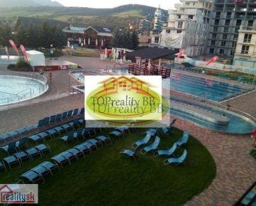 Investícia!!!  - Predaj  apartmánu s kuchynkou o celkovej výmere 31,28 m2 v aqua-parku Bešeňová - cena 122 000€