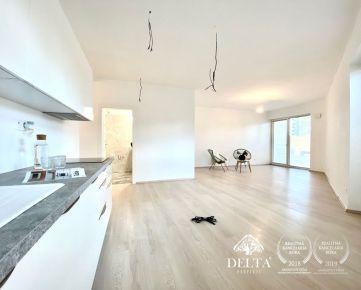DELTA   2 izbový byt v novostavbe v štandarde s balkónom, 67,75 m2, Vrakuňa