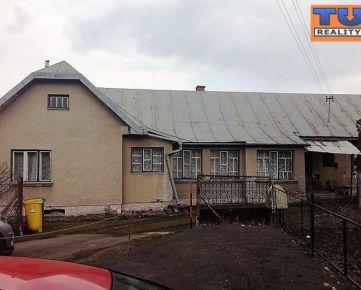PREDANÉ!!! EXKLUZÍVNE iba u nás !!! Rodinný dom v obci Lemešany na pozemku o výmere 959 m2.,CENA: 40 000 €
